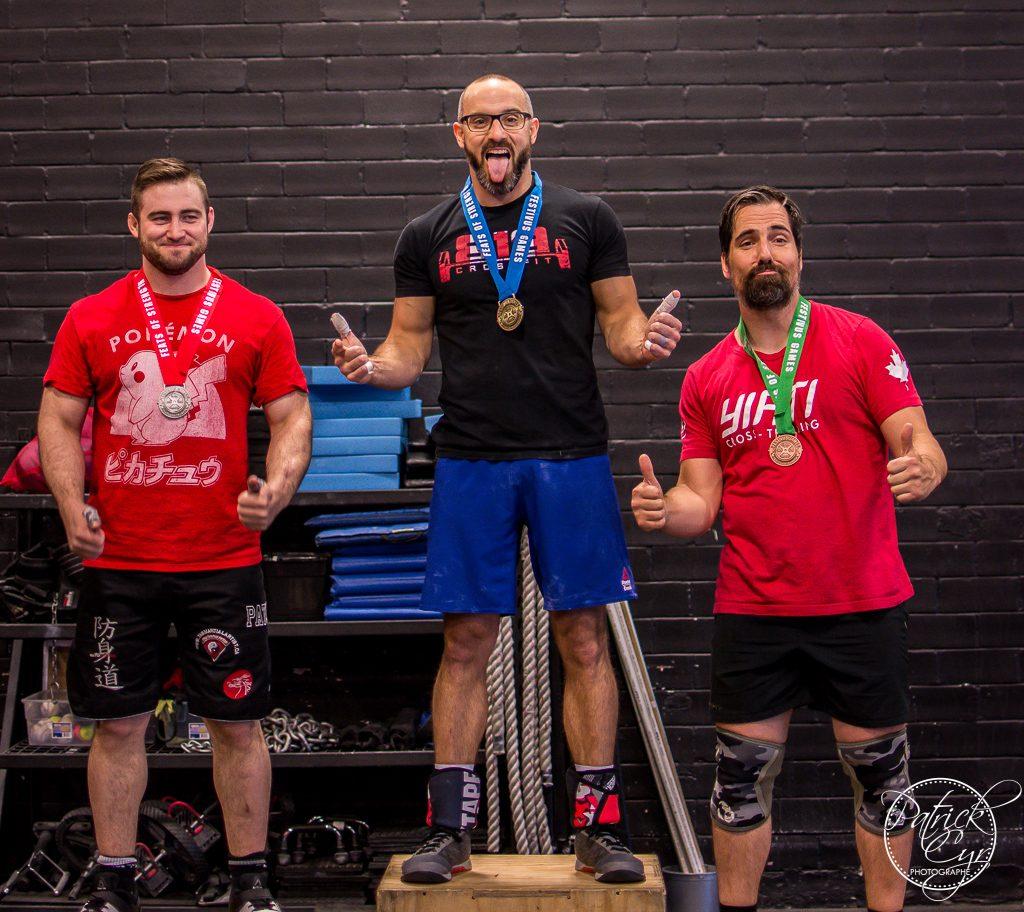 Karim first place Rx